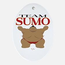 Team SUMO Ornament (Oval)