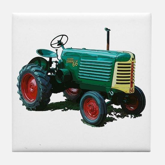 Unique Vintage farm Tile Coaster