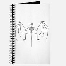 Bat Skeleton Journal