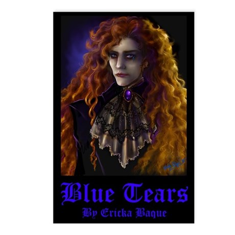 Blue Tears Postcards (Package of 8)