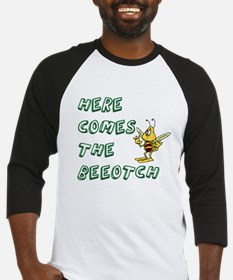 Cool Funny bee Baseball Jersey