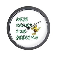 Cute Family and life humor Wall Clock