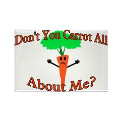Don't You Carrot All Rectangle Magnet (100 pack)