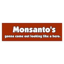 My HERO Monsanto Bumper Bumper Sticker