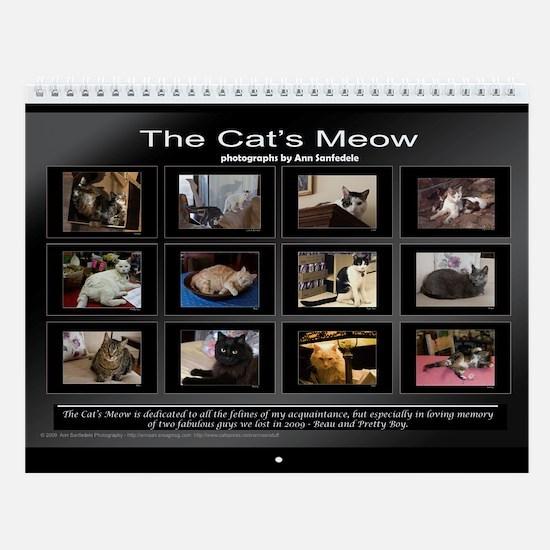 The Cat's Meow Wall Calendar