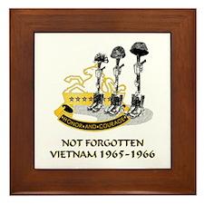 8th CAV. VIETNAM 1965-1966 Framed Tile