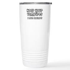 Vampires Travel Coffee Mug