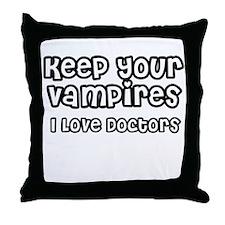 Vampires Throw Pillow