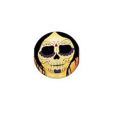 Emma Sugar Skull Mini Button