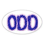 Odd Oval Sticker