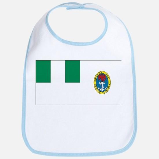 Nigeria Naval Ensign Bib