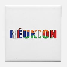 Reunion Tile Coaster