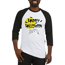 'Happy Halloween' Baseball Jersey
