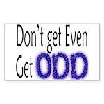 Odd Sticker (Rect.)