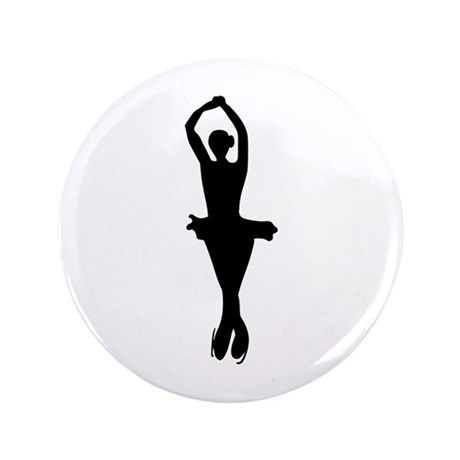 """Figure Skating 3.5"""" Button (100 pack)"""