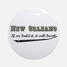 New Orleans Ornament (Round)