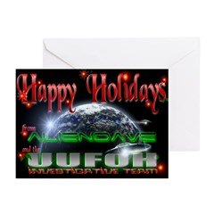 Holiday aliendave UUFOH Cards (Pk of 10)