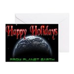 Happy Holidays From Planet Earth Cards (6)