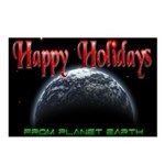 Happy Holidays From Planet Earth Postcards (8)