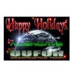 Happy Holidays From UUFOH Postcards (Pack8)