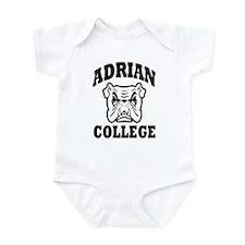 adrian college bulldog wear Infant Bodysuit