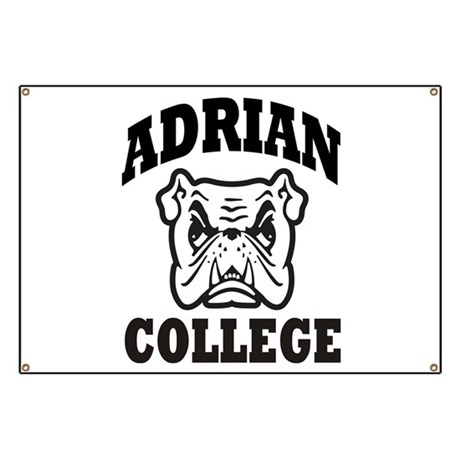adrian college bulldog wear Banner