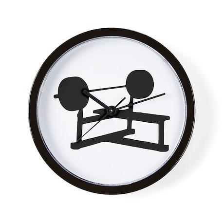Weightlifting Wall Clock