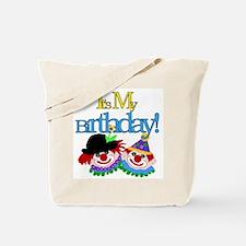 Clown Birthday Tote Bag