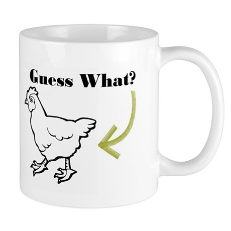 Chicken Butt Mug