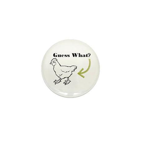 Chicken Butt Mini Button (100 pack)