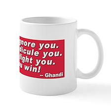 Ghandi quote Small Mug