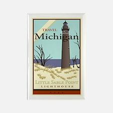 Travel Michigan Rectangle Magnet