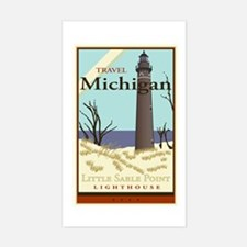 Travel Michigan Rectangle Decal