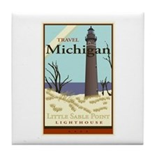 Travel Michigan Tile Coaster