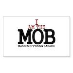 I Am The MOB Rectangle Sticker 50 pk)
