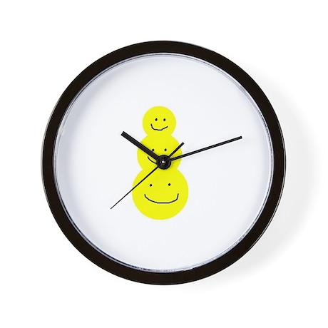 Frosty the Smileyman Wall Clock
