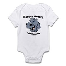 Hungry Hippo Infant Bodysuit