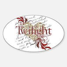 Twilight - Elegant Oval Decal