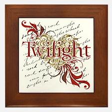 Twilight - Elegant Framed Tile