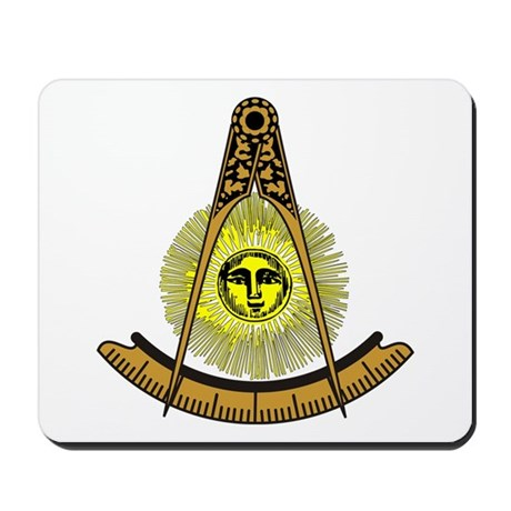 Freemason Past Master Mousepad