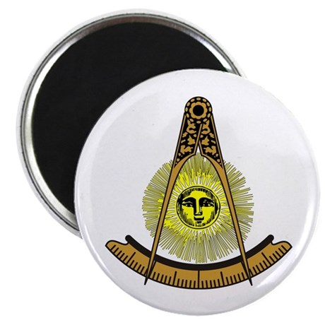 "Freemason Past Master 2.25"" Magnet (10 pack)"