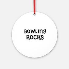 BOWLING ROCKS Ornament (Round)