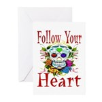 Follow Your Heart Greeting Cards (Pk of 20)