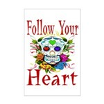 Follow Your Heart Mini Poster Print