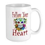 Follow Your Heart Large Mug