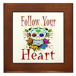 Follow Your Heart Framed Tile