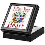 Follow Your Heart Keepsake Box