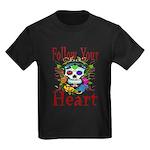 Follow Your Heart Kids Dark T-Shirt