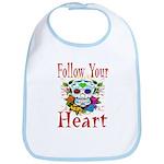 Follow Your Heart Bib