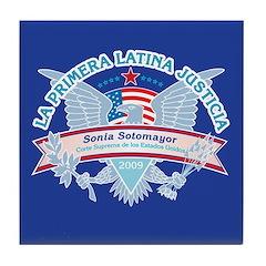 La Primera Latina Justicia Tile Coaster